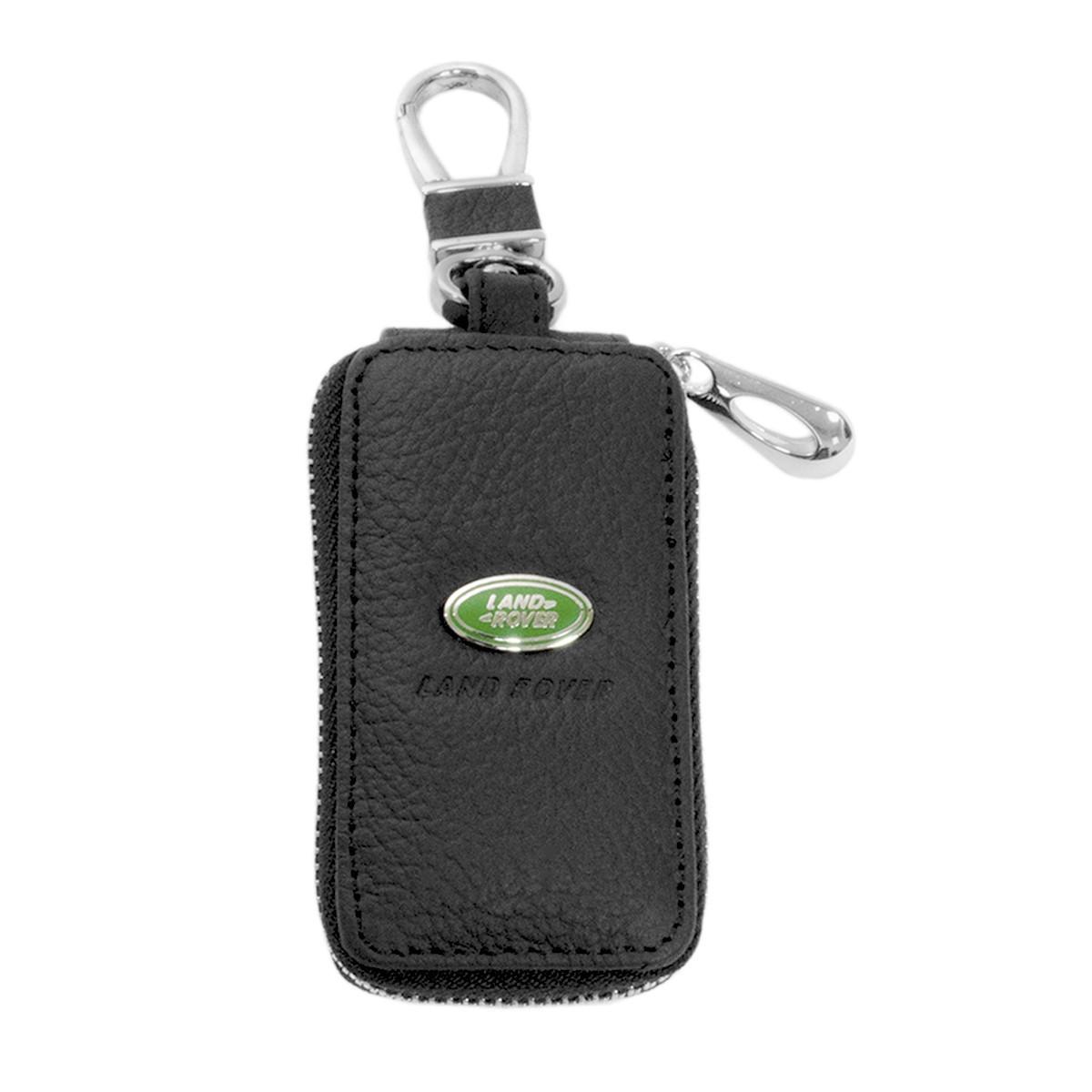 Ключниця Carss з логотипом LAND ROVER 15004 чорна