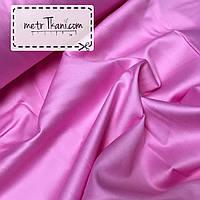 Сатин премиум розового цвета, ширина 240 см № ПС-0010