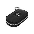 Ключница Carss с логотипом LEXUS 13003 черная, фото 2