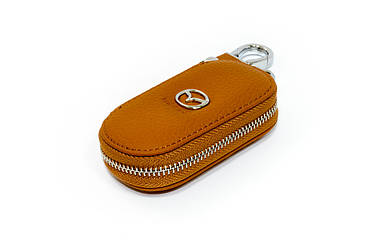 Ключница Carss с логотипом MAZDA 16001 коричневая