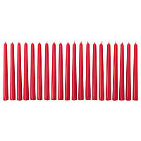 ВИНТЕР 2017 Неароматическая свеча, красный, 23 см 50345919 IKEA, ИКЕА, VINTER 2017