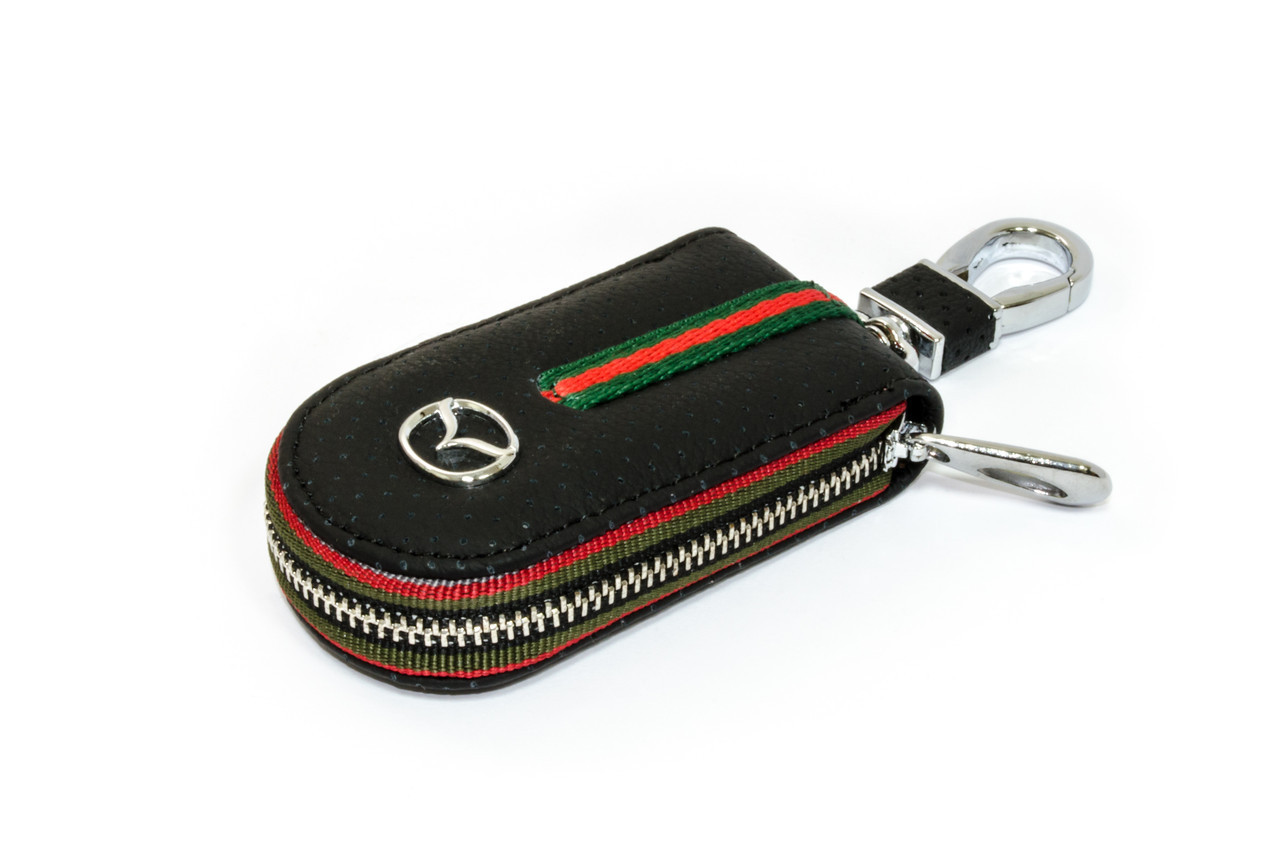 Ключница Carss с логотипом MAZDA 16007 черная