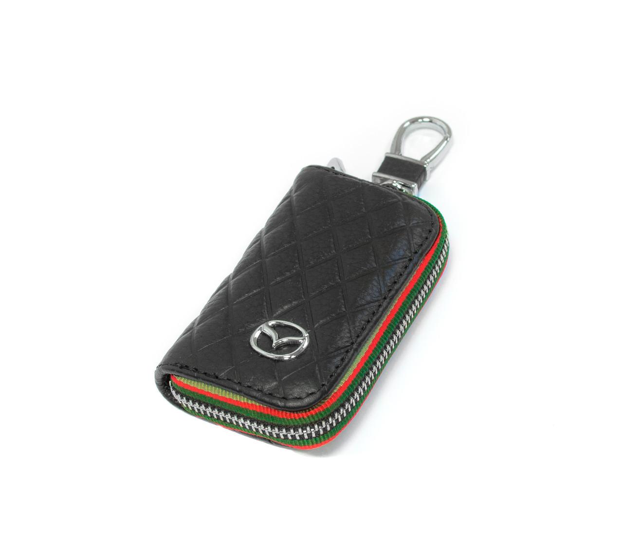 Ключниця Carss з логотипом MAZDA 16009 чорна