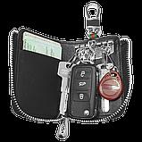 Ключница Carss с логотипом MAZDA 16012 многофункциональная черная, фото 2