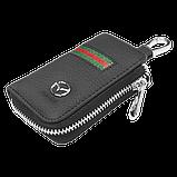 Ключница Carss с логотипом MAZDA 16012 многофункциональная черная, фото 4