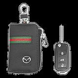 Ключница Carss с логотипом MAZDA 16012 многофункциональная черная, фото 5