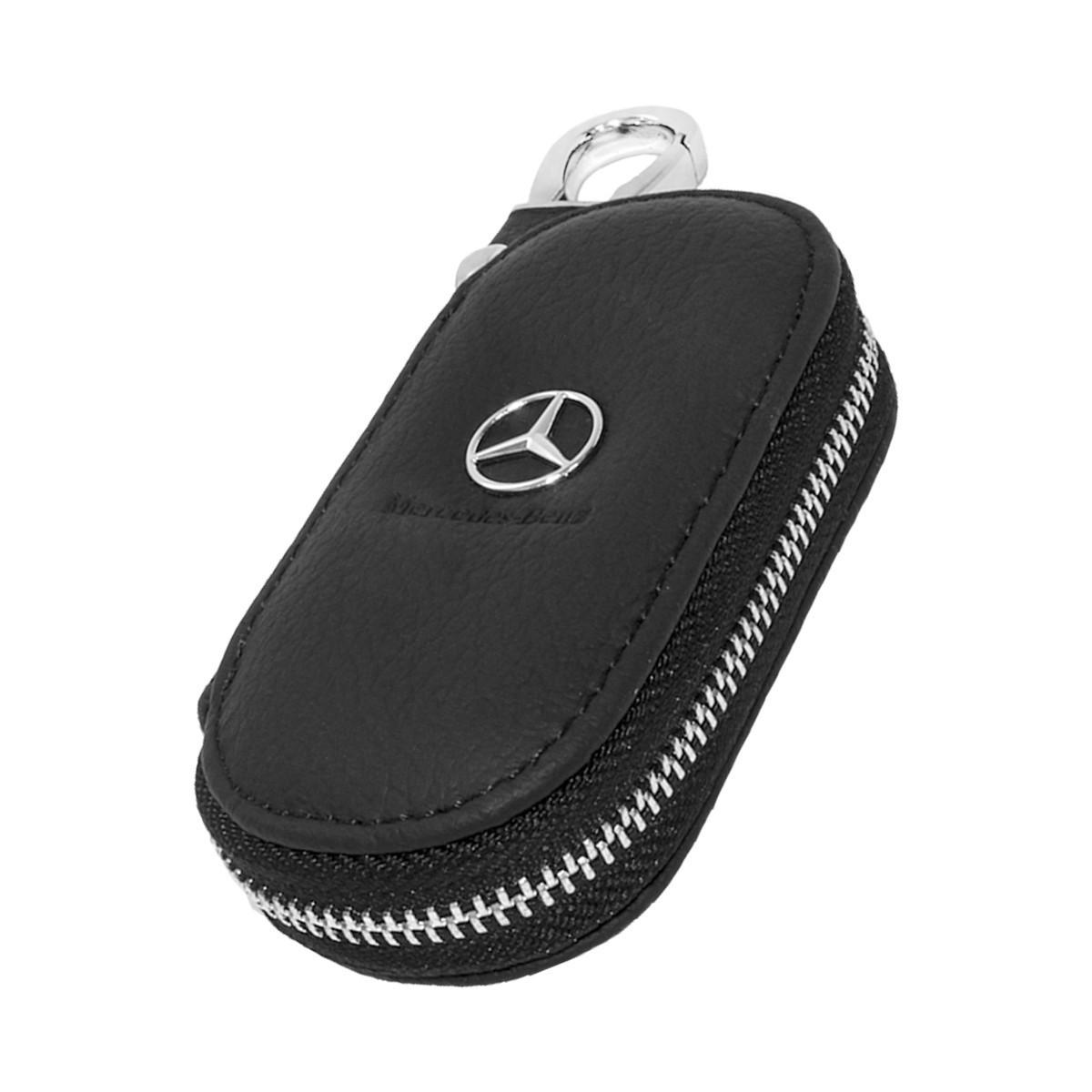 Ключница Carss с логотипом MERCEDES 02003 черная