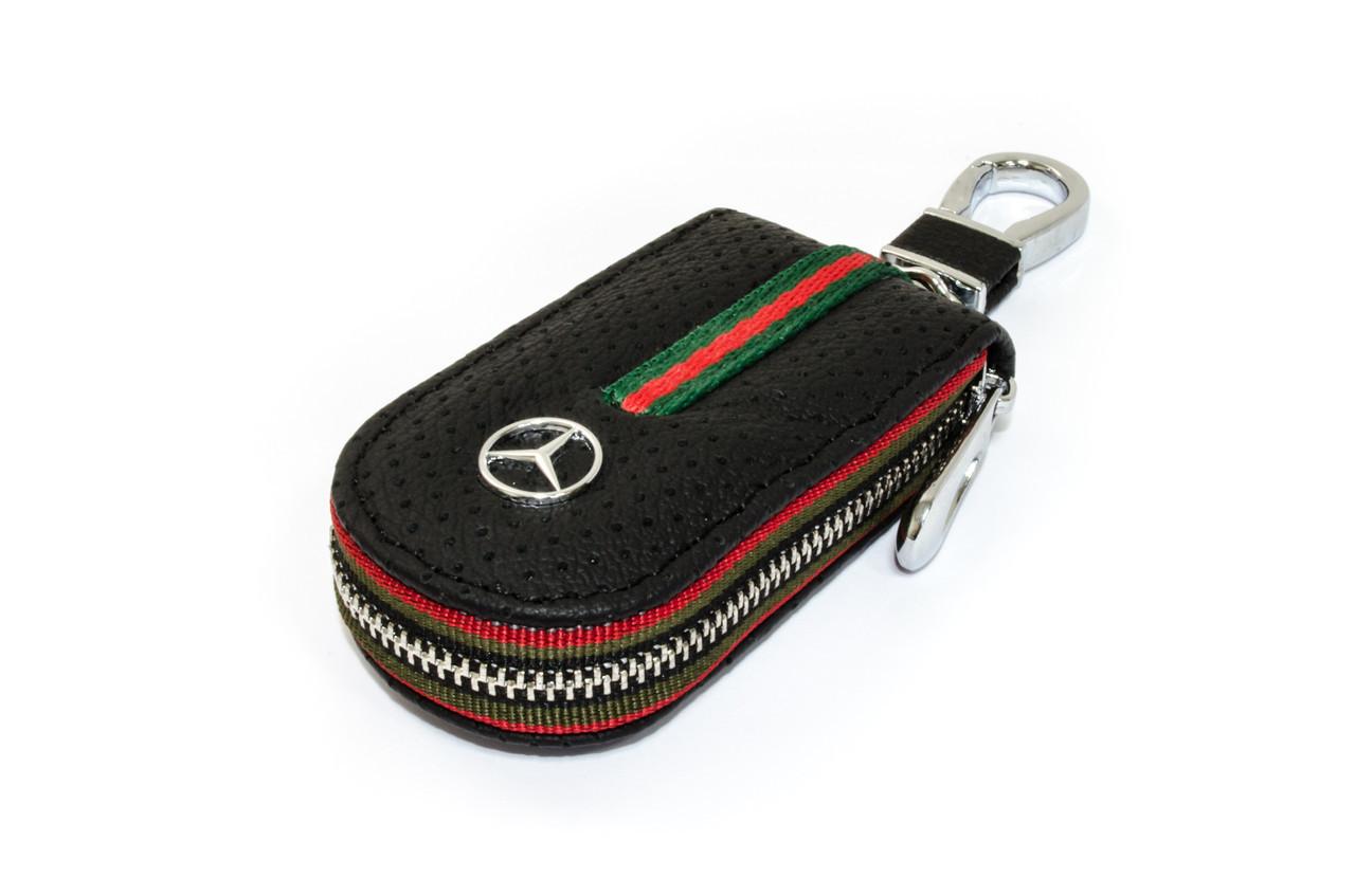 Ключница Carss с логотипом MERCEDES 02007 черная