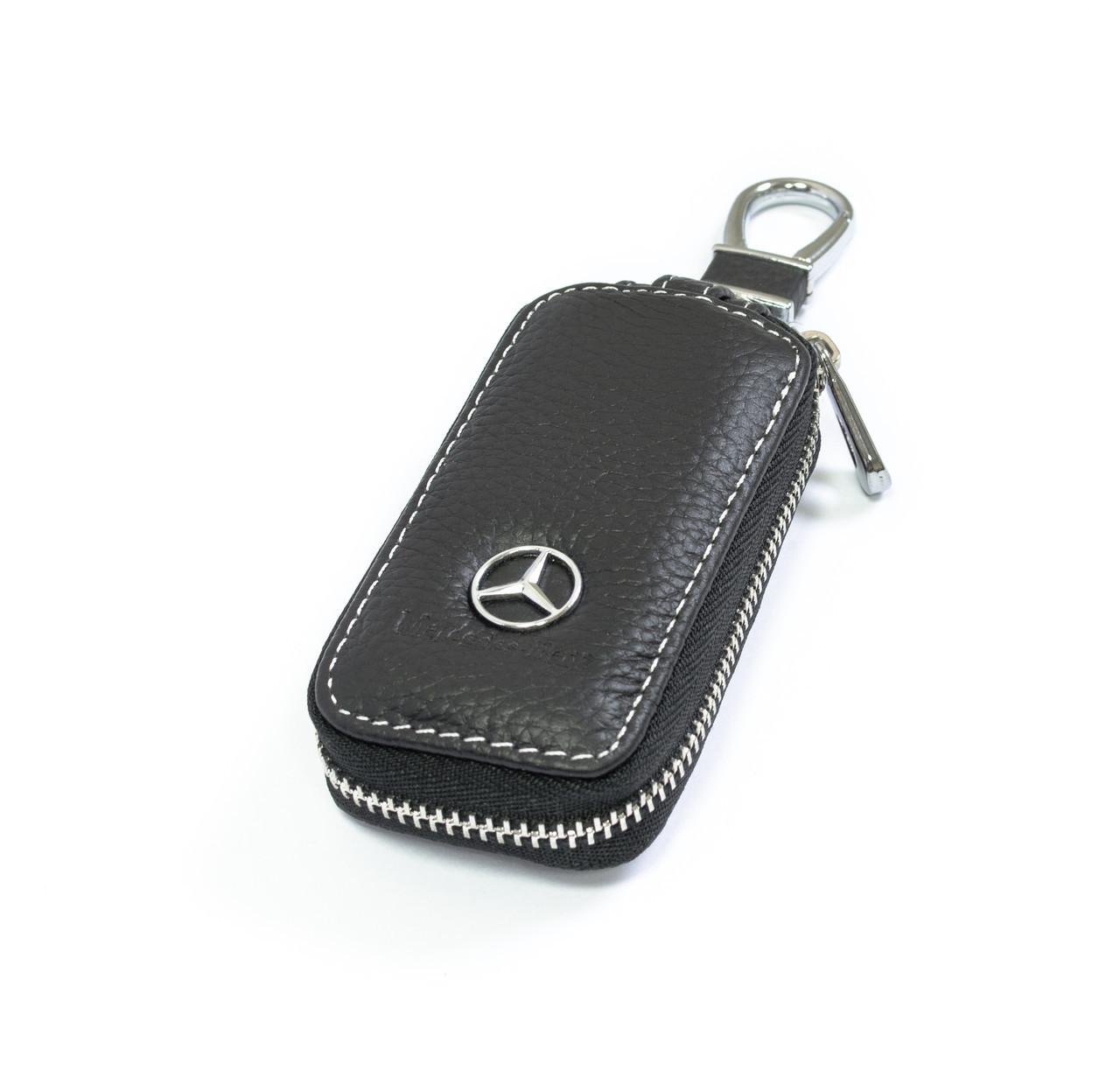 Ключница Carss с логотипом MERCEDES 02010 черная