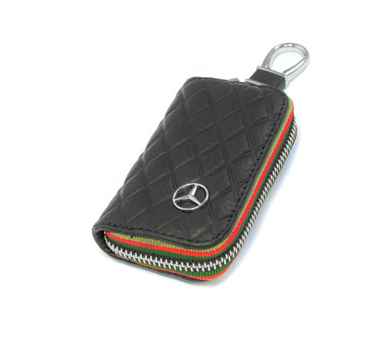 Ключница Carss с логотипом MERCEDES 02009 черная