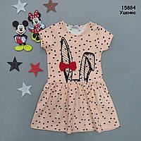 """Летнее платье """"Кролик"""" для девочки. 4-5 лет, фото 1"""