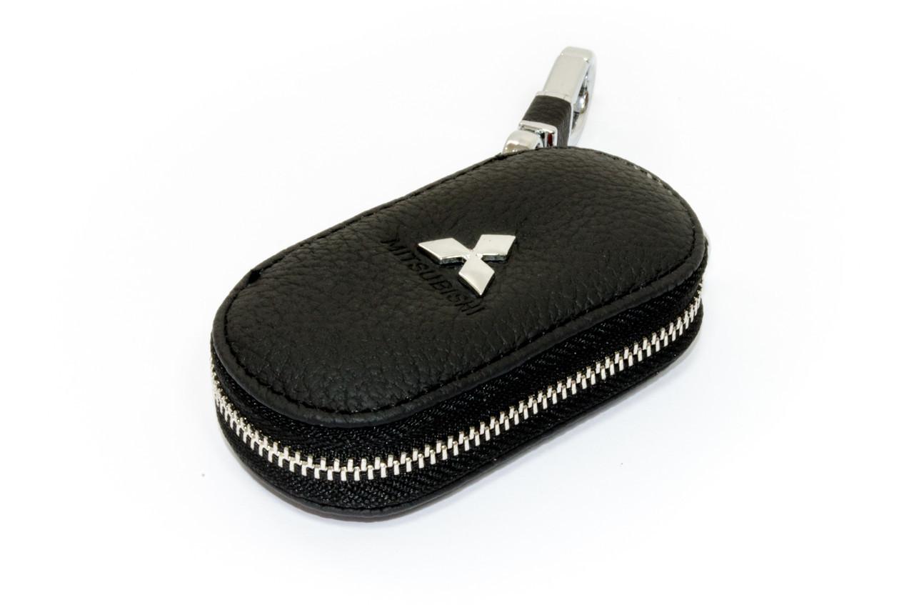 Ключница Carss с логотипом MITSUBISHI 11003 черная