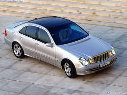 Mercedes W211 E / Мерседес 211 Е (Стеклянная крыша) (Седан) (2002-2009)