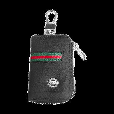 Ключница Carss с логотипом NISSAN 09012 многофункциональная черная