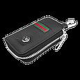 Ключница Carss с логотипом NISSAN 09012 многофункциональная черная, фото 3