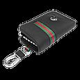 Ключница Carss с логотипом NISSAN 09012 многофункциональная черная, фото 4