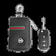 Ключница Carss с логотипом NISSAN 09012 многофункциональная черная, фото 5