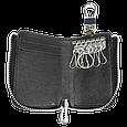 Ключница Carss с логотипом NISSAN 09012 многофункциональная черная, фото 6