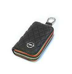 Ключница Carss с логотипом OPEL 18009 черная