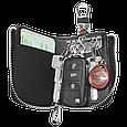 Ключница Carss с логотипом OPEL 18012 многофункциональная черная, фото 2