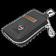 Ключница Carss с логотипом OPEL 18012 многофункциональная черная, фото 4