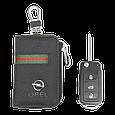 Ключница Carss с логотипом OPEL 18012 многофункциональная черная, фото 5