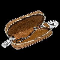 Ключница Carss с логотипом OPEL 18001 коричневая