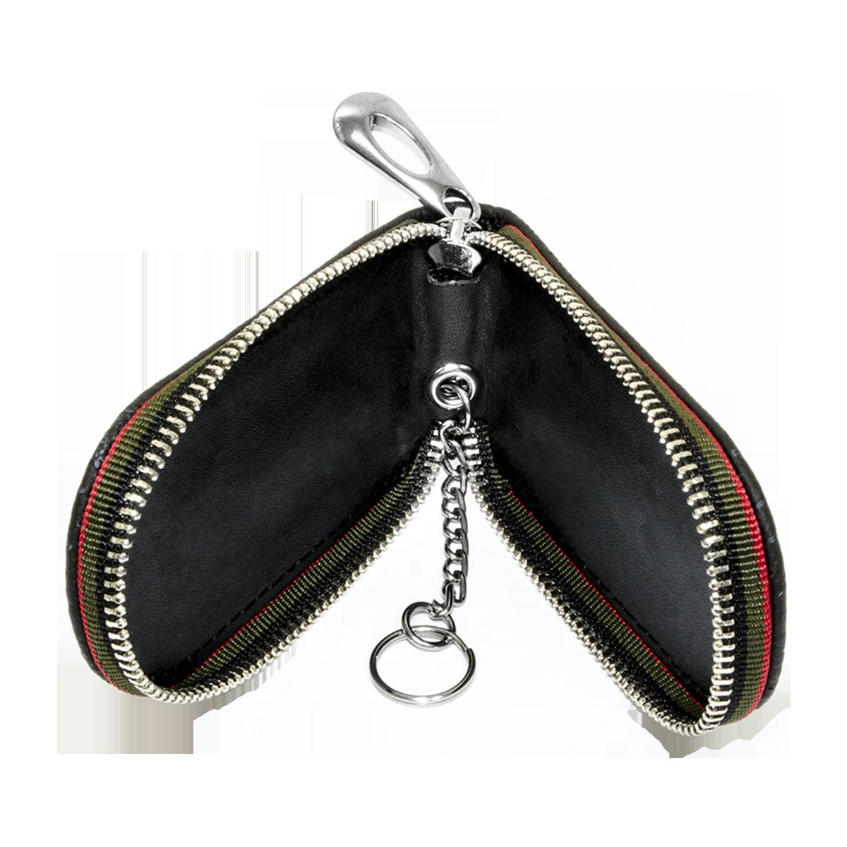 Ключница Carss с логотипом PEUGEOT 19007 черная