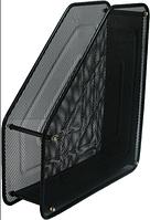 Лоток металлический, вертикальный, 1 отделение, черный, FS-01 Z018, 535500