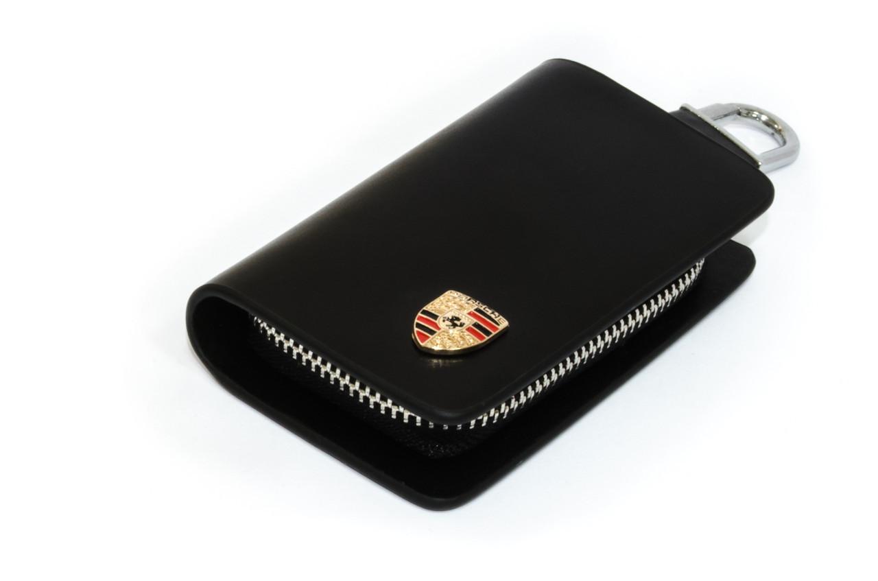 Ключница Carss с логотипом PORSCHE 06002 черная