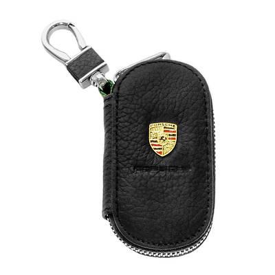 Ключница Carss с логотипом PORSCHE 06003 черная
