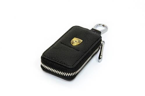 Ключница Carss с логотипом PORSCHE 06004 черная