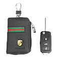Ключница Carss с логотипом PORSCHE 06012 многофункциональная черная, фото 5