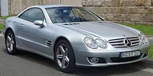 Mercedes W230 SL / Мерседес 230 СЛ (Кабриолет) (2001-2011)