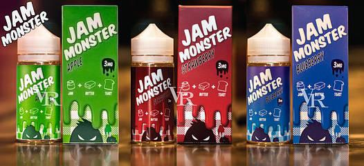 Jam Monster 100ml Оригинал USA  продажа, цена в Житомире. жидкости ... 04cbe136173