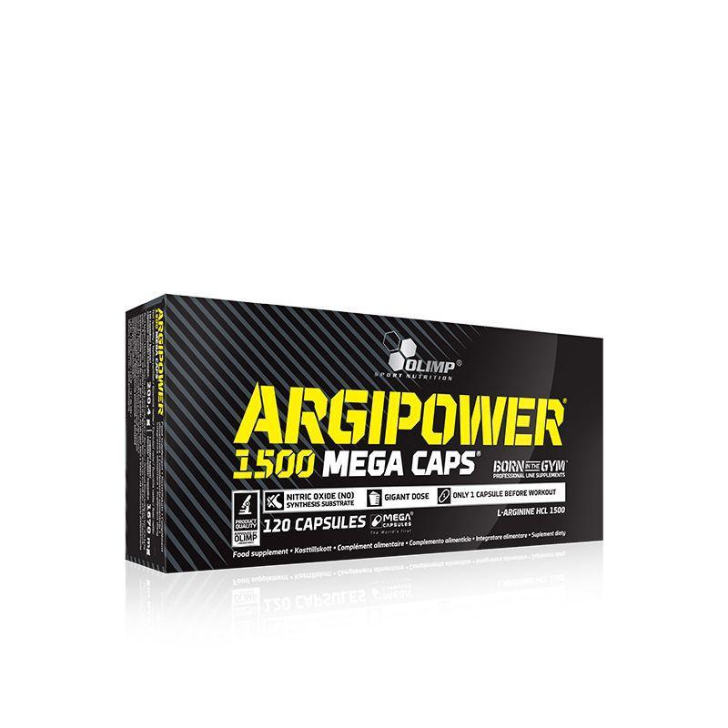 Olimp Argi Power 1500 (120 капс) аргинин олимп арги павер