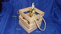 Ящик для вина Сосна 10.054