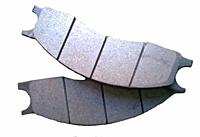 Вкладыш фрикционный тормозная колодка суппорта фронтальных погрузчиков L-34,L-34B Stalowa Wola,Dressta.244-765