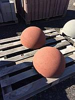 Полусфера парковочная (ограждение) бетон цветной