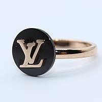 """Кольцо женское под золото """"Louis Vuitton"""""""