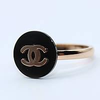 """Кольцо женское под золото """"Chanel"""""""