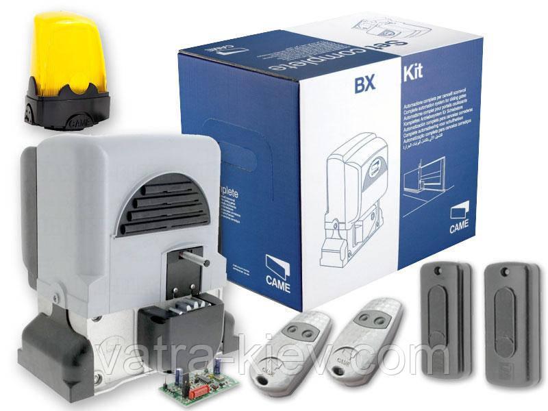 CAME BX-78 STANDARD-KIT Автоматика для відкатних воріт до 800 кг (BX-B).