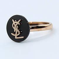 """Кольцо женское под золото """"Yves Saint Laurent"""""""