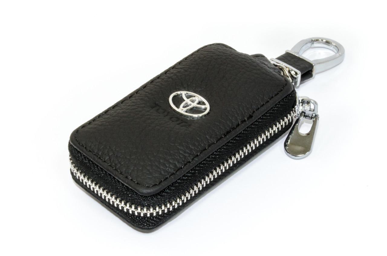 Ключница Carss с логотипом TOYOTA 07004 черная