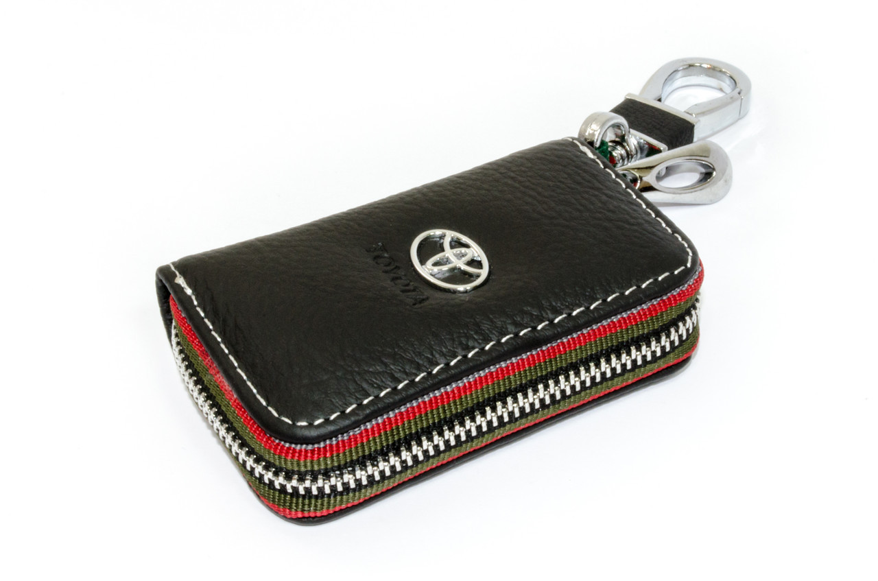 Ключница Carss с логотипом TOYOTA 07006 черная