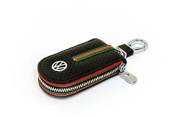 Ключница Carss с логотипом VOLKSWAGEN 04007 черная
