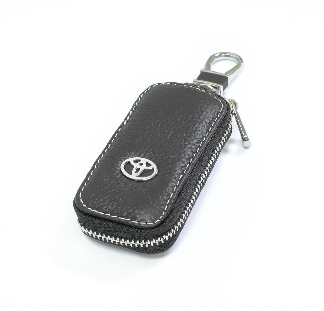 Ключница Carss с логотипом TOYOTA 07010 черная