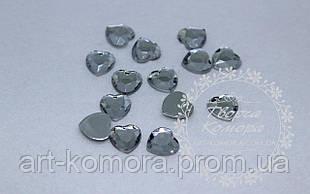 Сердце прозрачное малое, 1 см