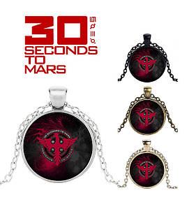 Кулон 30 seconds to Mars с лого Феникс