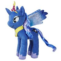 Мягкая игрушка Hasbro My Little Pony Плюшевый пони с волосами PRINCESS LUNA (E0034_E0430)